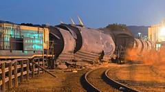 Derailment (~ydoc~) Tags: derailment tasrail locomotive train devonport