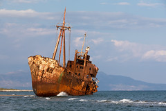 Dimitrios Shipwreck   Gytheio   Δημήτριος-15 (Paul Dykes) Tags: greece gr dimitriosshipwreck gytheio δημήτριοσ shipwreck rust beach coast peloponnese hellas