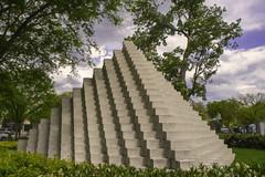 sol le witt sculpture garden