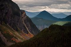 Light in the distance (Sony J Thomas) Tags: pacificnorthwest landscape nationalpark autumn mountains shapes scenic light mountrainiernationalpark ridges