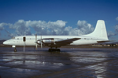 Bristol 175 Britannia 253 Transair Cargo EL-WXA PMI LEPA (Toni Marimon) Tags: bristol 175 britannia 253 transair cargo elwxa pmi lepa nikon