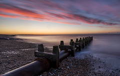 Pulling in the same direction (Through Bri`s Lens) Tags: sussex lancing shorehambysea sunrise outfall beach pebbles shingle rain clouds cloudy brianspicer canon5dmk3 canon1635f4 leelittlestopper