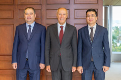 WIPO Director General Meets Uzbekistan Delegation to the 2018 WIPO Assemblies (WIPO | OMPI) Tags: assemblies bilateralmeeting directorgeneral francisgurry ompi uzbekistan wipo