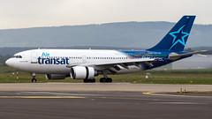 Airbus A310-304 C-GFAT Air Transat (William Musculus) Tags: bsl lfsb eap mlh basel mulhouse airport freiburg euroairport spotting aeroport cgfat air transat airbus a310304 a310300 ts tsc