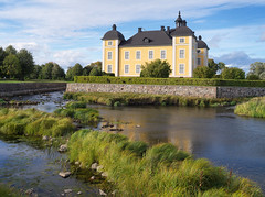 Stromsholm palace (Tim Ravenscroft) Tags: palace stromsholm sweden architecture river moat hasselblad hasselbladx1d