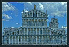 Il Duomo di Pisa - 3 (cienne45) Tags: carlonatale cienne45 natale italy pisa toscana tuscany piazzadeimiracoli campodeimiracoli squareofmiracules worldheritagesite unesco worldheritagersitebyunesco patrimoniodellumanità patrimoniodellumanitàunesco torre torredipisa cattedralesantamariaassunta torrependente duomo campanile pratodeimiracoli romanicopisano repubblicamarinara tower towerofpisa cathedralofsantamariaassunta leaningtower dome belltower romanesquefrompisa maritimerepublic duomodipisa cattedrale cattedraledipisa santamariaassunta duomodisantamariaassunta