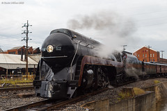 Study In Steam and Metal (nrvtrains) Tags: 611 roanoketerminal ferry roanoke 069 norfolkandwestern norfolksouthern steam virginia unitedstates us