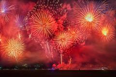 Independence Day_fireworks (abtabt) Tags: trinidadandtobago tt pos portofspain independence independenceday people fireworks evening light smoke colors d70028300 blending caribbean holiday