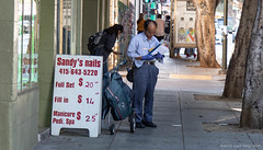 Bay Area Street Photography (kengikat40) Tags: sanfrancisco streetphotography mylifethroughmylens bayarea photographer muni sand beach water train