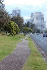 Mr Squiggle-designed path, Gold Coast (philip.mallis) Tags: goldcoast mainbeach footpath path