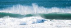Break (Nick Kanta) Tags: color d90 nikon ocean oregon oregoncoast outdoorphotography pacific pano panoramic surf tamron70200 water waves yachats