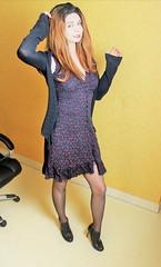 615 (Lily Blinz) Tags: crossdress crossdresser crossdressed crossdressing travesti tgirl transvestite tranny transgender transgenre trav trans travestie lily lilyblinz blinz