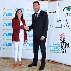 #63Seminci - Firma del convenio de colaboración con Movistar (04/10/2018) (SEMINCI) Tags: seminci valladolid cine