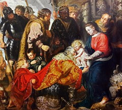 Jacob Jordaens Adoration of the Magi Netherlands (c. 1617) Church of Saint John the Baptist, Skalbmierz (medievalpoc) Tags: art history adoration magi jacob jordaens medievalpoc netherland 1600s