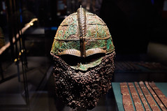 The Vikings Begin: Treasures from Uppsala University (pdejordy) Tags: vikings mysticseaport viking helmet