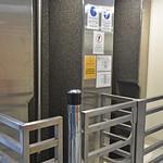 No wet bodies or hands - or else! Roma Street Fire Station bat pole (slide pole) thumbnail