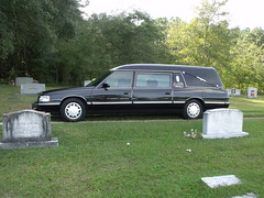 DSCF0650 (stevenbr549) Tags: 1997 ss masterpiece cadillac hearse black funeral car luthersville cemetery