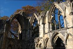 St Marys Abbey Corner (Ravensthorpe) Tags: york buildings historical ruins