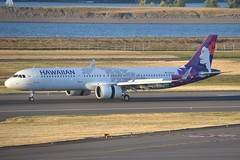 N212HA (LAXSPOTTER97) Tags: hawaiian airlines airbus a321 a321200neo n212ha cn 8129 aviation airport airplane kpdx