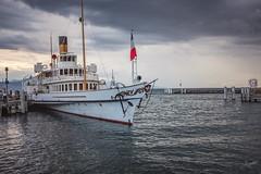 Départ imminent (audearnold) Tags: 2018 aout bateau lac lausanne ouchy port suisse