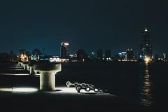 _MG_0256 (waychen_c) Tags: taiwan kaohsiung gushandistrict gushan shaochuanto shousencho portofkaohsiung night nightview nightscape cityscape skyline port harbor sea coast light 台灣 高雄 高雄市 鼓山區 鼓山 哨船頭 哨船町 高雄港 一港口 85大樓 碼頭