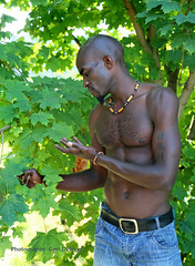 IMG_2814h (Defever Photography) Tags: black male model fit muscular africa kenia belgium chest portrait