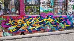 Shem... (colourourcity) Tags: melbourne melbournestreetart graffiti streetart streetartaustralia streetartnow burncity colourourcity awesome nofilters notforlikes shem rdc fba f1 hosierlane colourourcityhosierlane
