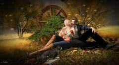 #227 beginning of autumn...... (ЙёКσ) Tags: sl slblogger fashion style couple love tmcreathion dubaievent vango mom uber truth addams blueberry catwa signature deadwool