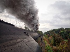 Great Central Railway Thurcaston Leicestershire 5th October 2018 (loose_grip_99) Tags: greatcentral railway railroad rail loughborough leicestershire eastmidlands england uk steam engine locomotive smoke thurcaston southern bulleid pacific 462 cityofwells preservation transportation gassteam uksteam trains railways autumn gala october 2018 34092 sr br