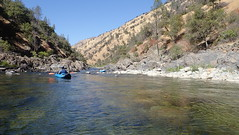 Floating down the Upper Tuolumne River