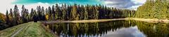 Teich Panorama (D.ST.) Tags: teich panorama aufgenommen mit der sony dschx60v photoshop cs6 lightroom harz herbst wald deutschland germany water tree damm sun sunday spaziergang niedersachsen cybershoot dsc hx 60v cyber shoot