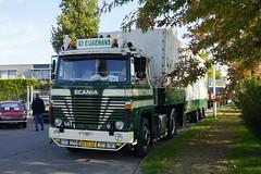 Scania 141 V8 Ad Eijkemans met kenteken BX-VL-32 tijdens de Dag van Historisch Transport in Druten 14-10-2018 (marcelwijers) Tags: scania 141 v8 ad eijkemans met kenteken bxvl32 tijdens de dag van historisch transport druten 14102018 lkw truck trucks camion vrachtwagen vrachtauto oldtimer treffen truckshow show nederland niederlande netherlands pays bas