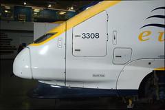 Eurostar Nose (Ravensthorpe) Tags: york rail nrm trains electric class373