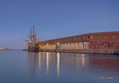 Nao Victoria en el Cargadero de Melilla (josmanmelilla) Tags: melilla mar barcos azul agua españa buques atardecer pwmelilla pwdmelilla flickphotowalk pwdemelilla