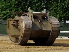 1914-1918 - Mark IV du Tank Museum de Bovington (2) (Breizh56) Tags: france saumur carrouseldesaumur2018 pentax 19141918