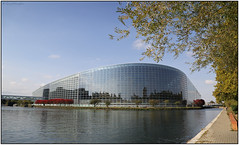 G28A8114FL11 (Gerry McL) Tags: building parliament european strasbourg alsace france river ill