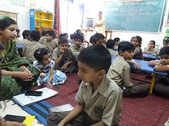 """Sample Monitoring Data Collection"" for Room to Read India school library program"