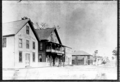 Early Streets (lakelandlibrary) Tags: main street commercial districts streets businesses newspaper
