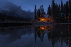 Emerald Lake (Mark McLeod 80) Tags: 2018 alberta autumn banff canada markmcleod markmcleodphotography rockies colour fall forest landscape britishcolumbia emeraldlake fairytale