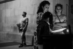 Impatience (Adam Bonn) Tags: leicam9 leica leicam m9p m9 monochrome blackandwhite blackwhite streetphotography candid 7artisans 7artisans50mmf11 50mm