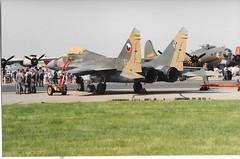 5616 Mikoyan-Gurevich MiG-29 Czech Air Force (graham19492000) Tags: 5616 mikoyangurevich mig29 czechairforce