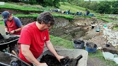 Vindolanda_04_140149RT (Old Fine Art) Tags: vindolanda hadrian hadrianswall roman northumbria england archaeology dig