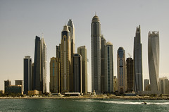 UAE: Dubai Skyline - Photo #4 (doug-craig) Tags: asia uae dubai travel architecture buildings skyscrapers water stock nikon d7000 journalism photojournalism dougcraigphotography greatphotographers flickrtravelaward coth coth5