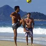 Footvolley at Copabana beach thumbnail