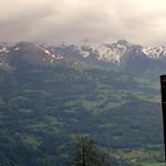 Appenzell Alps - view from Triesenberg, Liechtenstein thumbnail