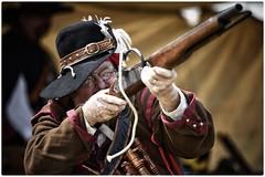 Taking aim (gro57074@bigpond.net.au) Tags: musket 2018 faire medieval stives posedportrait posed cavalier portrait f28 70200mmf28 nikor color colour d850 nikon