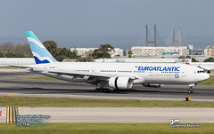 EuroAtlantic Airways (GuilhermeMartinez1904) Tags: lisboa love me lisbon hobbie planespotting portugal passion boeing boeinglovers beautiful aircraft sky sun summer family follow