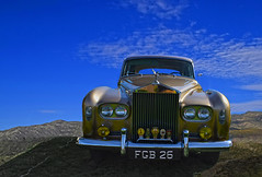 The Fool on the Hill (oybay©) Tags: rolls royce silver cloud car auto voiture automobile coche old oldtimer classic vintage vecchio antique voituresanciennes worldcars vehicle outdoor peoria arizona
