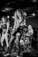 Aramantus @ The Slade Rooms 14/04/18 (WeronikaOl) Tags: vocal vocalist female band liveband live bandphotography guitar blue bass hair hairflip drums percussion performance