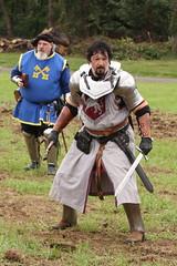 Herald and Knight (Itinerant Wanderer) Tags: pennsylvania buckscounty wrightstown villagerenaissancefaire